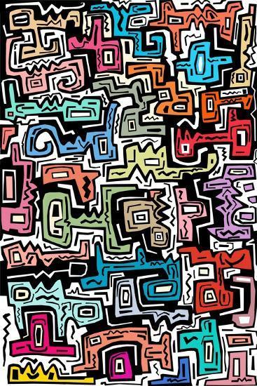 Abstract II-Miguel Balb?s-Giclee Print