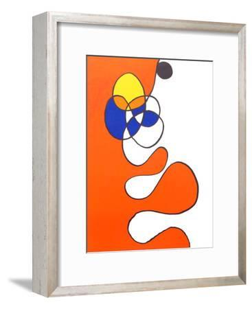 Abstract III from Derriere Le Miroir-Alexander Calder-Framed Collectable Print