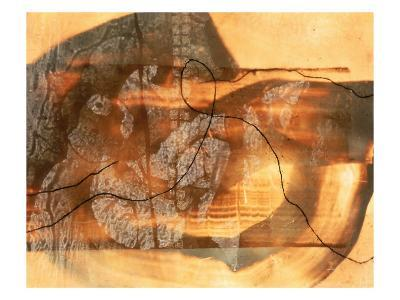 Abstract Image in Beige, Brown, and Black-Daniel Root-Giclee Print