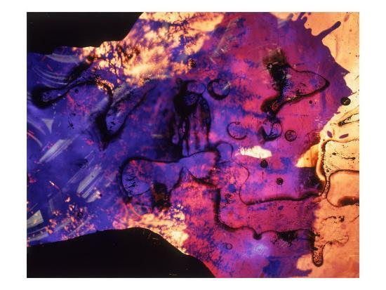 Abstract Image in Blue and Magenta-Daniel Root-Giclee Print