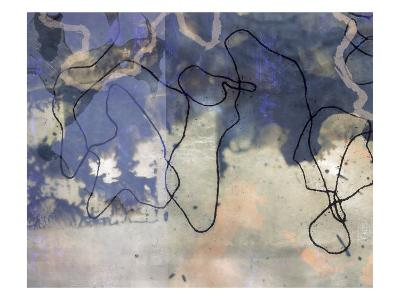 Abstract Image in Blue and White-Daniel Root-Giclee Print