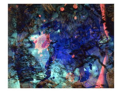 Abstract Image in Blue-Daniel Root-Giclee Print