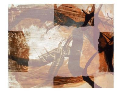 Abstract Image in Brown and White-Daniel Root-Giclee Print