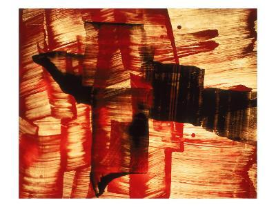 Abstract Image in Red, Yellow, and Black-Daniel Root-Giclee Print