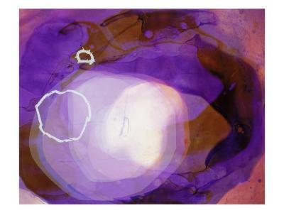 Abstract Image in Various Shades of Purple-Daniel Root-Giclee Print