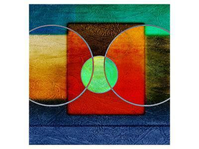 Abstract Intersect Ia-Catherine Kohnke-Art Print
