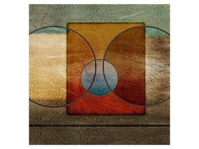 Abstract Intersect Ib-Catherine Kohnke-Art Print