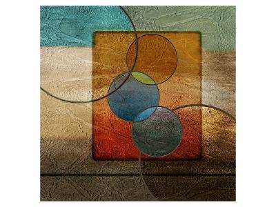 Abstract intersect Iib-Catherine Kohnke-Art Print