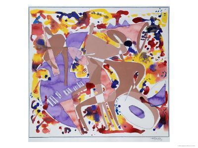 Abstract Jazz, c.1997-Gil Mayers-Giclee Print