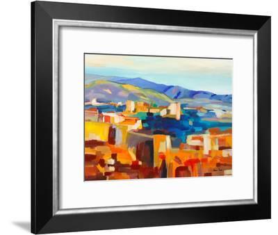 Abstract Landscape 5-Hans Paus-Framed Art Print