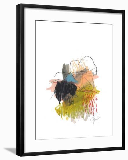 Abstract Landscape No. 30-Jan Weiss-Framed Art Print