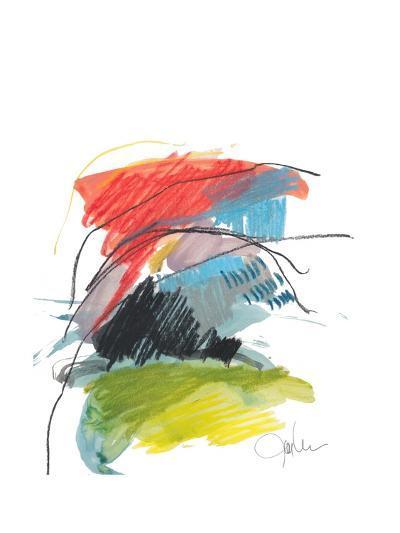 Abstract Landscape No. 40-Jan Weiss-Art Print