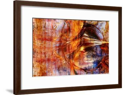 Abstract Lense I-Jean-François Dupuis-Framed Art Print