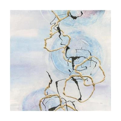 Abstract Lines on Pastel II-Chris Paschke-Art Print