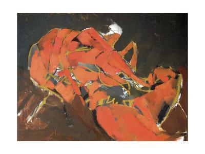 Abstract Lobster I-Erin McGee Ferrell-Art Print