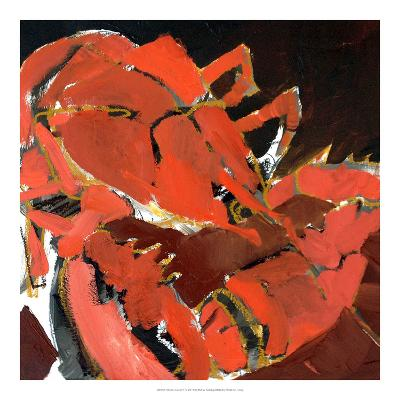 Abstract Lobster V-Erin McGee Ferrell-Giclee Print