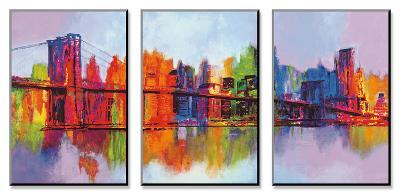 Abstract Manhattan-Brian Carter-Mount Art Set