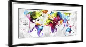 Abstract Map - World
