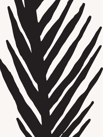 Abstract Minimal Palm-Modern Tropical-Art Print