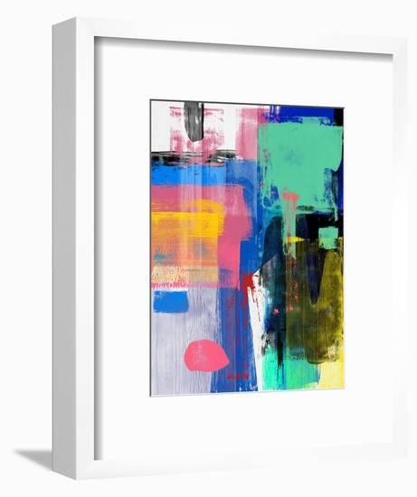 Abstract Mix Study-Emma Moore-Framed Art Print