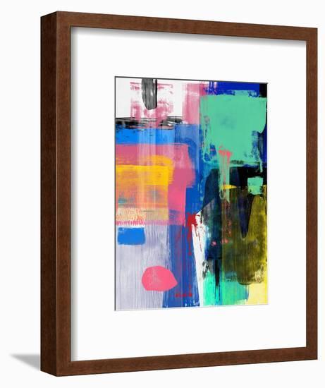 Abstract Mix Study-Emma Moore-Framed Art Print