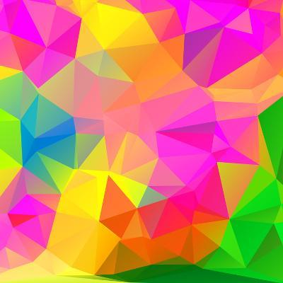 Abstract Mosaic Pattern- TAlex-Art Print