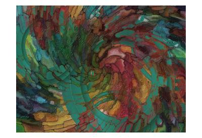 Abstract Mosaic-Taylor Greene-Art Print