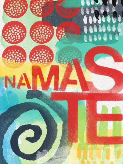Abstract Namaste-Linda Woods-Art Print