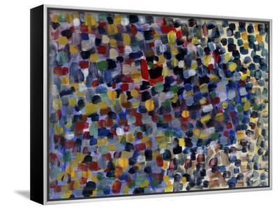 Abstract No.22-Diana Ong-Framed Canvas Print
