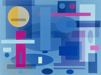 Abstract No.41-Diana Ong-Giclee Print
