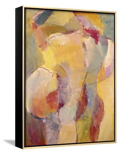 Abstract No.6-Diana Ong-Framed Canvas Print