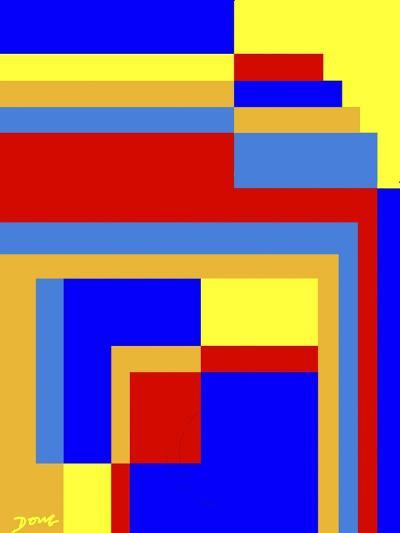 Abstract No.6-Diana Ong-Giclee Print