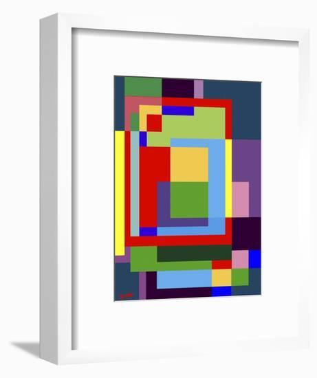 Abstract No.7-Diana Ong-Framed Premium Giclee Print