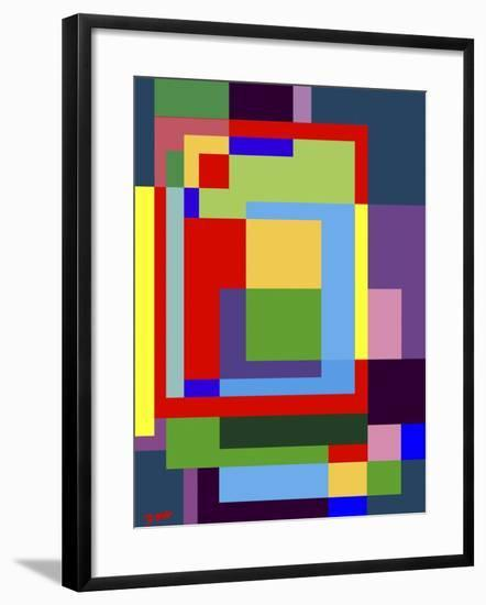 Abstract No.7-Diana Ong-Framed Giclee Print