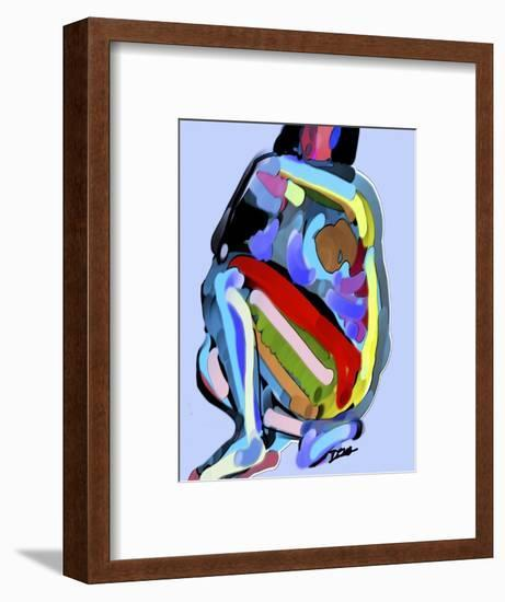 Abstract No.8-Diana Ong-Framed Premium Giclee Print