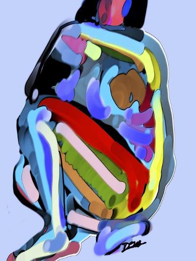 Abstract No.8-Diana Ong-Giclee Print