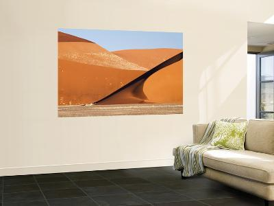 Abstract of Sand Dunes, Sossusvlei, Namibia, Africa-Wendy Kaveney-Wall Mural