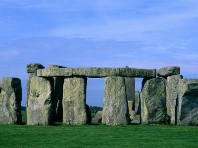 Abstract of Stones at Stonehenge, England-Bill Bachmann-Photographic Print