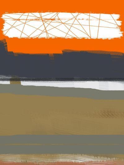 Abstract Orange 1-NaxArt-Art Print