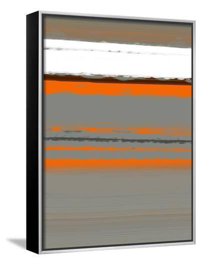 Abstract Orange 2-NaxArt-Framed Canvas Print