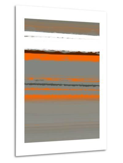 Abstract Orange 2-NaxArt-Metal Print