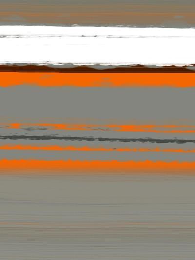 Abstract Orange 2-NaxArt-Art Print
