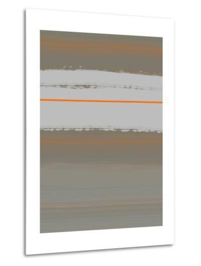 Abstract Orange 4-NaxArt-Metal Print