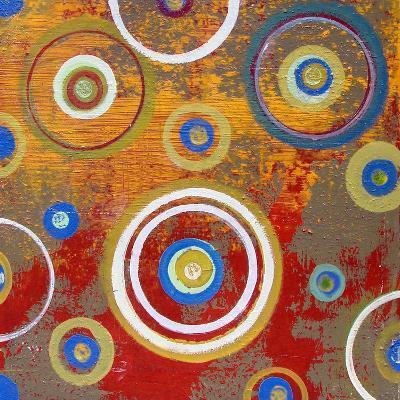 Abstract Orange Fizz-Ricki Mountain-Art Print
