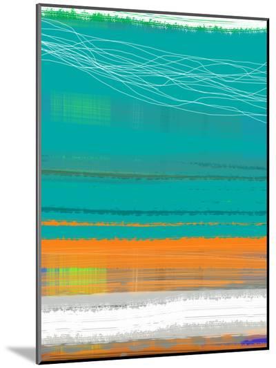 Abstract Orange Stripe2-NaxArt-Mounted Print