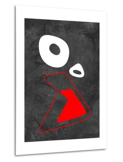 Abstract Oval Shape 6-NaxArt-Metal Print