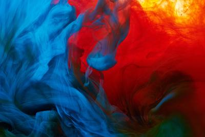 Abstract Paint Splash-Nik_Merkulov-Photographic Print