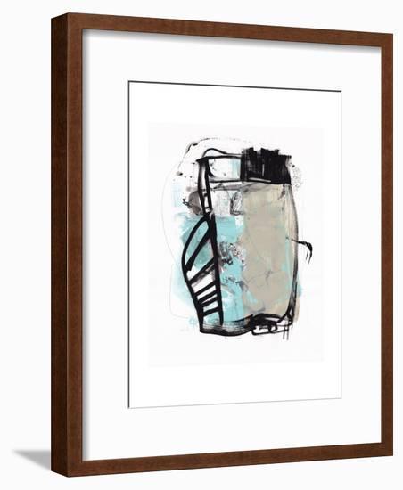Abstract Painting 140422-1-Jaime Derringer-Framed Giclee Print