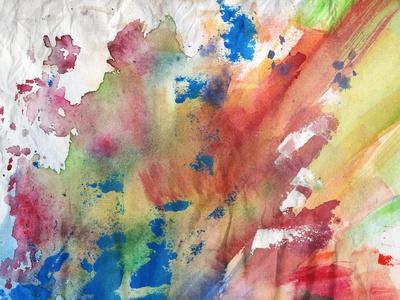 Abstract Painting Background-run4it-Art Print