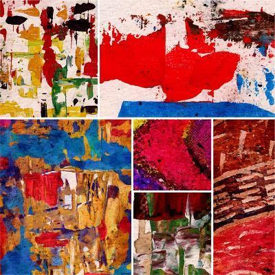 Abstract Painting, Digital Collage-Andriy Zholudyev-Art Print